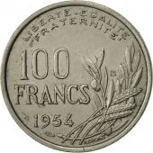 France, Cochet, 100 Francs, 1954, Beaumont - Le Roger, SUP, Copper-nickel