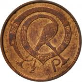 IRELAND REPUBLIC, 1/2 Penny, 1975, TTB, Bronze, KM:19