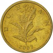 Croatie, 10 Lipa, 2003, SUP, Brass plated steel, KM:6