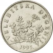 Croatie, 50 Lipa, 1995, SUP, Nickel plated steel, KM:8