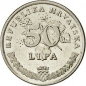 Croatie, 50 Lipa, 2003, SUP, Nickel plated steel, KM:8