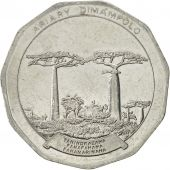 Madagascar, 50 Ariary, 1996, SUP, Stainless Steel, KM:25.1