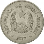 Guinea-Bissau, 20 Pesos, 1977, TTB, Copper-nickel, KM:21
