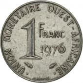 West African States, Franc, 1976, Paris, SUP, Steel, KM:8