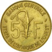 West African States, 5 Francs, 1978, Paris, SUP, Aluminum-Nickel-Bronze, KM:2a