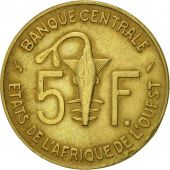 West African States, 5 Francs, 1982, Paris, TTB, Aluminum-Nickel-Bronze, KM:2a