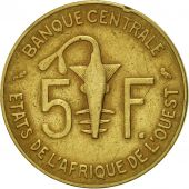 West African States, 5 Francs, 1970, Paris, TTB, Aluminum-Nickel-Bronze, KM:2a