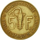 West African States, 5 Francs, 1971, Paris, TTB, Aluminum-Nickel-Bronze, KM:2a