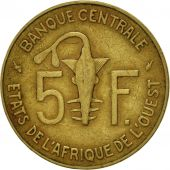West African States, 5 Francs, 1977, Paris, TTB, Aluminum-Nickel-Bronze, KM:2a