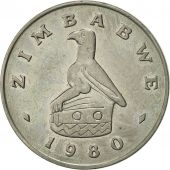 Zimbabwe, 50 Cents, 1980, SUP, Copper-nickel, KM:5