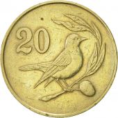 Chypre, 20 Cents, 1983, SUP, Nickel-brass, KM:57.1
