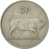 Monnaie, IRELAND REPUBLIC, 5 Pence, 1969, TTB, Copper-nickel, KM:22