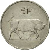 IRELAND REPUBLIC, 5 Pence, 1976, SUP, Copper-nickel, KM:22