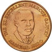 Jamaica, Elizabeth II, 25 Cents, 1996, British Royal Mint, SUP, Copper Plated
