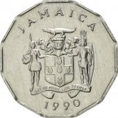 Jamaica, Elizabeth II, Cent, 1990, British Royal Mint, SUP, Aluminium, KM:64