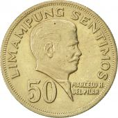 Philippines, 50 Sentimos, 1967, TTB+, Copper-Nickel-Zinc, KM:200