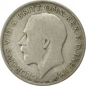 Great Britain, George V, Florin, Two Shillings, 1921, VF(20-25), Silver, KM:817a