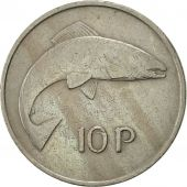 IRELAND REPUBLIC, 10 Pence, 1971, SUP, Copper-nickel, KM:23