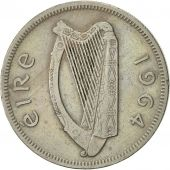 IRELAND REPUBLIC, Florin, 1964, SUP, Copper-nickel, KM:15a