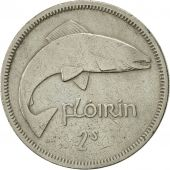 IRELAND REPUBLIC, Florin, 1961, EF(40-45), Copper-nickel, KM:15a