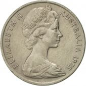 Australia, Elizabeth II, 20 Cents, 1975, AU(50-53), Copper-nickel, KM:66