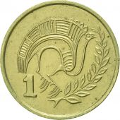 Monnaie, Chypre, Cent, 1983, SUP, Nickel-brass, KM:53.1