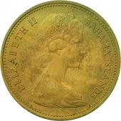 Bahamas, Elizabeth II, Cent, 1966, Franklin Mint, TTB, Nickel-brass, KM:2