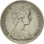 Australia, Elizabeth II, 5 Cents, 1968, AU(55-58), Copper-nickel, KM:64