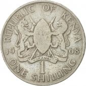 Kenya, Shilling, 1968, VF(20-25), Copper-nickel, KM:5