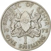 Kenya, Shilling, 1973, AU(50-53), Copper-nickel, KM:14