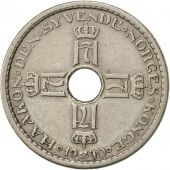 Norvège, Haakon VII, Krone, 1940, SUP, Copper-nickel, KM:385
