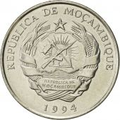 Mozambique, 500 Meticais, 1994, Royal Mint, SUP, Nickel Clad Steel, KM:121