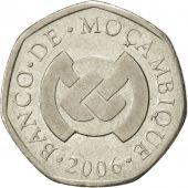 Mozambique, Metical, 2006, SUP, Nickel plated steel, KM:137