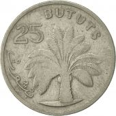 GAMBIA, THE, 25 Bututs, 1971, TTB, Copper-nickel, KM:11