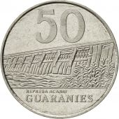 Paraguay, 50 Guaranies, 1988, AU(55-58), Stainless Steel, KM:169