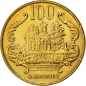 Paraguay, 100 Guaranies, 1993, SUP, Brass plated steel, KM:177a