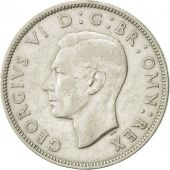 Great Britain, George VI, Florin, Two Shillings, 1941, AU(50-53), Silver, KM:855