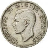 Great Britain, George VI, Florin, Two Shillings, 1949, AU(50-53), Copper-nickel