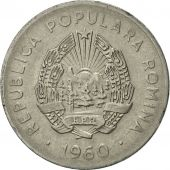 Roumanie, 25 Bani, 1960, SUP, Nickel Clad Steel, KM:88