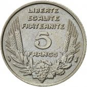 France, Bazor, 5 Francs, 1933, Paris, TB+, Nickel, KM:887, Gadoury:753