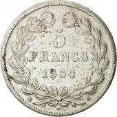 France, Louis-Philippe, 5 Francs, 1834, Paris, TTB, Argent, KM:749.1