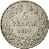 France, Louis-Philippe, 5 Francs, 1847, Paris, TTB, Argent, KM:749.1
