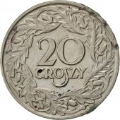 Pologne, 20 Groszy, 1923, Warsaw, SUP, Nickel, KM:12