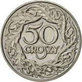 Pologne, 50 Groszy, 1923, Warsaw, SUP, Nickel, KM:13