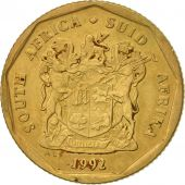 South Africa, 20 Cents, 1992, Pretoria, EF(40-45), Bronze Plated Steel, KM:136