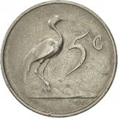 South Africa, 5 Cents, 1965, EF(40-45), Nickel, KM:67.2