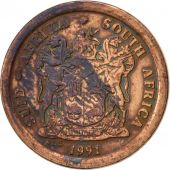 South Africa, 2 Cents, 1991, VF(30-35), Copper Plated Steel, KM:133
