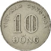 Viet Nam, STATE OF SOUTH VIET NAM, 10 Dông, 1970, TTB, Nickel Clad Steel, KM:8a