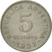 Argentine, 5 Centavos, 1952, TTB+, Copper-nickel, KM:46