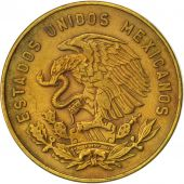 Mexico, 5 Centavos, 1964, Mexico City, EF(40-45), Brass, KM:426